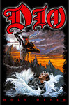 Dio - Holy Diver Textile Poster