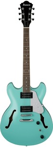 Ibanez AS63-SFG AS Series AS Artcore Double Cut-Away Hollow Body Electric Guitar (Sea Foam Green) - Cover