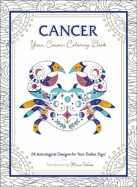 Cancer - Your Cosmic Coloring Book - Adams Media (Paperback) - Cover