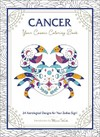 Cancer - Your Cosmic Coloring Book - Adams Media (Paperback)
