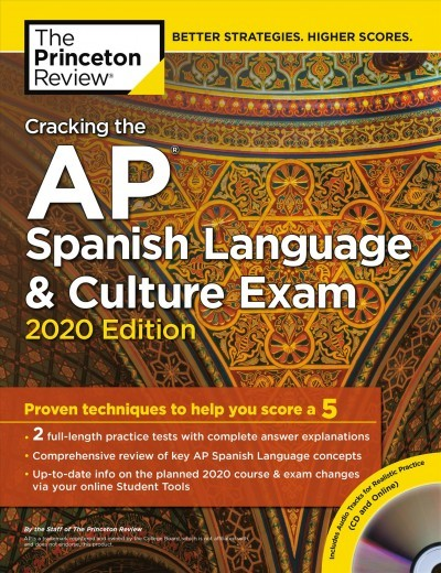 Cracking The AP Spanish Language & Culture Exam 2020 - Princeton Review  (Paperback)