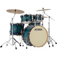 Tama CL52KRS-BAB Superstar Classic 5pc Shells Only Acoustic Drum Kit - Blue Lacquer Burst (22 10 12 16 14 Inch)