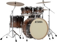 Tama CL52KRS-CFF Superstar Classic 5pc Shells Only Acoustic Drum Kit - Coffee Fade (22 10 12 16 14 Inch) - Cover