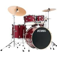 Tama IE52KH6W-CPM Imperialstar 5pc Acoustic Drum Kit with Hardware - Candy Apple Mist (22 10 12 16 14 Inch)