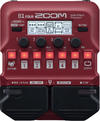 Zoom B1 FOUR Bass Guitar Multi-Effects Pedal (Red)