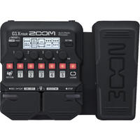 Zoom G1X FOUR Electric Guitar Mulit-Effects Pedal (Black)
