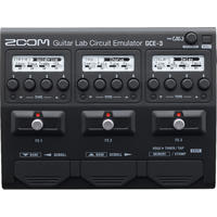 Zoom GCE-3 Guitar Lab Circuit Emulator Muli-Effects Interface (Black)