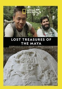Lost Treasures of the Maya (Region 1 DVD) - Cover