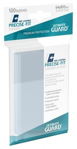Ultimate Guard - Precise-Fit Side-Loading Sleeves Standard Size (100 Sleeves) - Cover