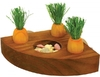 Rosewood - Carrot Toy 'n Treat Holder Activity Toy