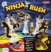 Ninja Rush (Card Game) - Cover