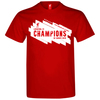 Liverpool Champions League Winners 18/19 Men's Red T-Shirt (Large)