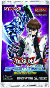 Yu-Gi-Oh! - Speed Duel: Attack from the Deep Single Booster (Trading Card Game) - Cover