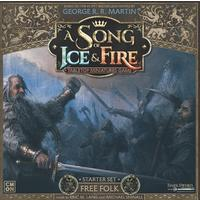 A Song of Ice & Fire: Tabletop Miniatures Game - Free Folk Starter Set (Miniatures)