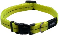Rogz - Utility X-Small 11mm Firefly Dog Collar (Dayglo Yellow Reflective) - Cover