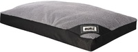 Rogz - Lekka Pod Medium Flat Rectangle Oxford Dog Bed (Black/Grey)