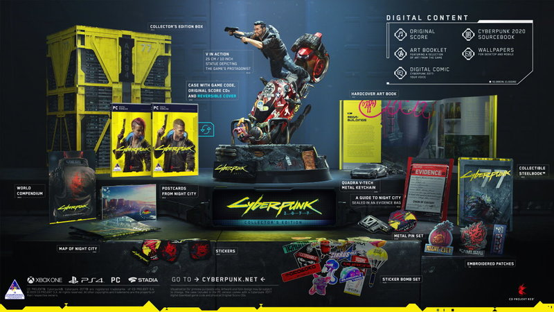 Cyberpunk 2077 - Collector's Edition (PC Download Code in the Box)