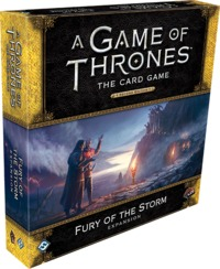 A Game of Thrones: The Card Game (Second Edition) - Fury of the Storm Expansion (Card Game) - Cover