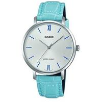 Casio Enticer Analogue Ladies Wrist Watch - Silver and Blue