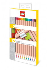 LEGO IQHK - Coloured Pencils with Toppers (Pack of 12)