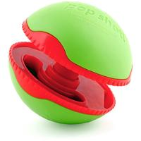 L'Chic - 9cm Foobler Pop Shot Dog Toy (Green and Red)