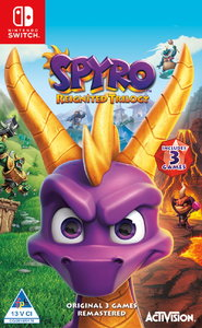 Spyro Reignited - Remastered Trilogy (Nintendo Switch) - Cover