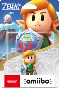 Nintendo amiibo - The Legend of Zelda: Link's Awakening - Link (Nintendo Switch) - Cover