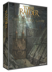 Tomb Raider Legends: The Board Game (Board Game) - Cover