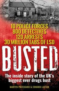 Busted - Martyn Pritchard (Paperback) - Cover