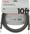 Fender Professional Series 3m Instrument Cable (Gray Tweed)
