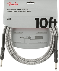 Fender Professional Series 3m Instrument Cable (White Tweed) - Cover