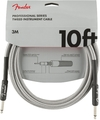 Fender Professional Series 3m Instrument Cable (White Tweed)