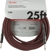 Fender Professional Series 7.5m Instrument Cable (Red Tweed)