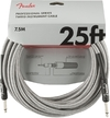 Fender Professional Series 7.5m Instrument Cable (White Tweed)