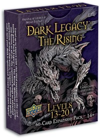 Dark Legacy: The Rising - Levels 13-20 Expansion (Card Game) - Cover