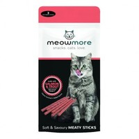 Meowmore - Salmon and Trout Treats - 15g (Pack of 3) - Cover