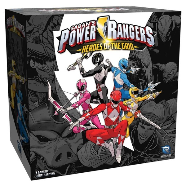 Power Rangers: Heroes of the Grid - Core Set (Miniatures)