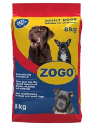 Zogo - Dry Dog Food - Beef (8kg)