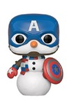 Funko Pop! Marvel - Holiday - Captain America Vinyl Figure