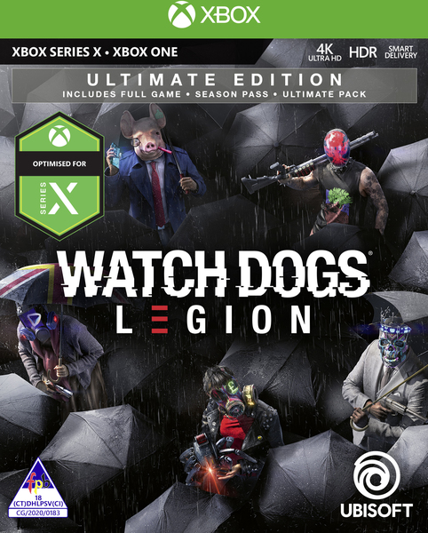 Watch Dogs Legion Ultimate Edition Xbox One Video Games Online Raru