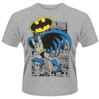 3e45ac2d21b39c DC Comics - Batman Logo Pose Mens T-Shirt (X-Large)