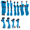 Corsair - Premium Individually Sleeved PSU Cables Pro Kit Type 4 Gen 4 - Blue