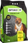 Optimizor - Premium Dry Dog Food - Chicken & Rice (8kg)