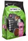Optimizor - Premium Dry Puppy Food - Milky Bones + Chicken & Rice (3kg)