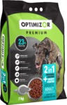 Optimizor - Premium 2in1 Dry Dog Food - Gravy Coated Chicken & Rice (7kg)