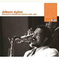 Albert Ayler - Recorded In Stockholm (Vinyl)