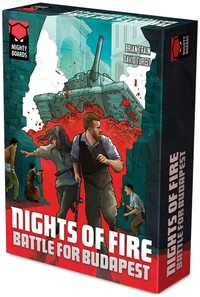 Nights of Fire: Battle for Budapest (Board Game) - Cover