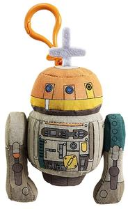 "Star Wars Rebels - Mini Plush Figure with Sound (""Chopper"" Clip On) - Cover"