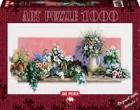 Art Puzzle - A World of Flowers Puzzle (1000 Pieces)