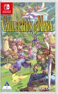 Collection of Mana (Nintendo Switch) - Cover